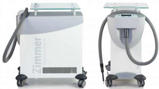 Cryo-6 Skin Air Cooling-System Front and Side
