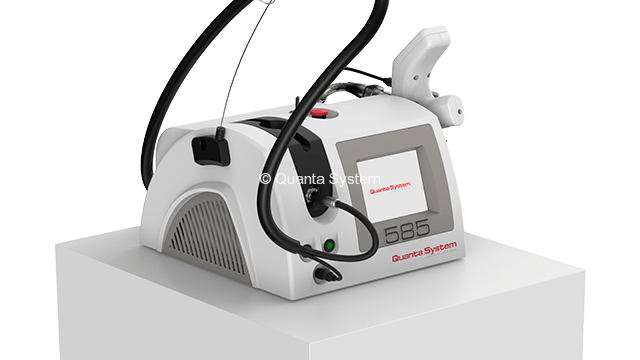 Quanta System 585nm Solid-state laser System for Vascular Lesions side view