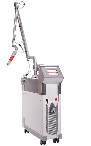 Quanta System Asset Laser machine for Tattoo Removal and Pigmented Lesions