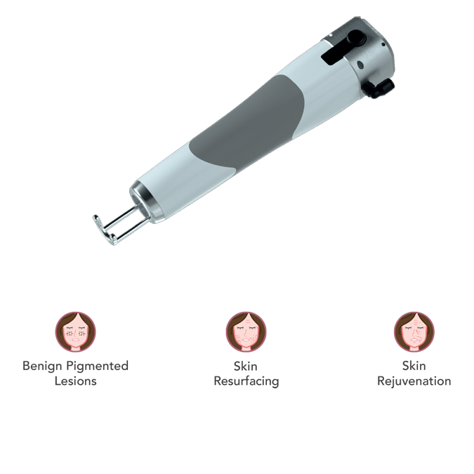 Chrome High Coverage Fractional Handpiece